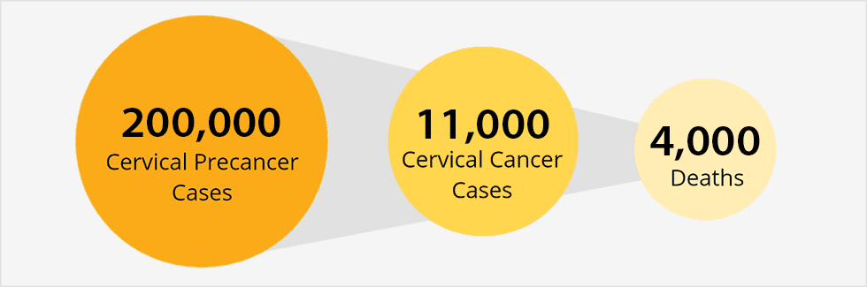 hpv cervical cancer link)