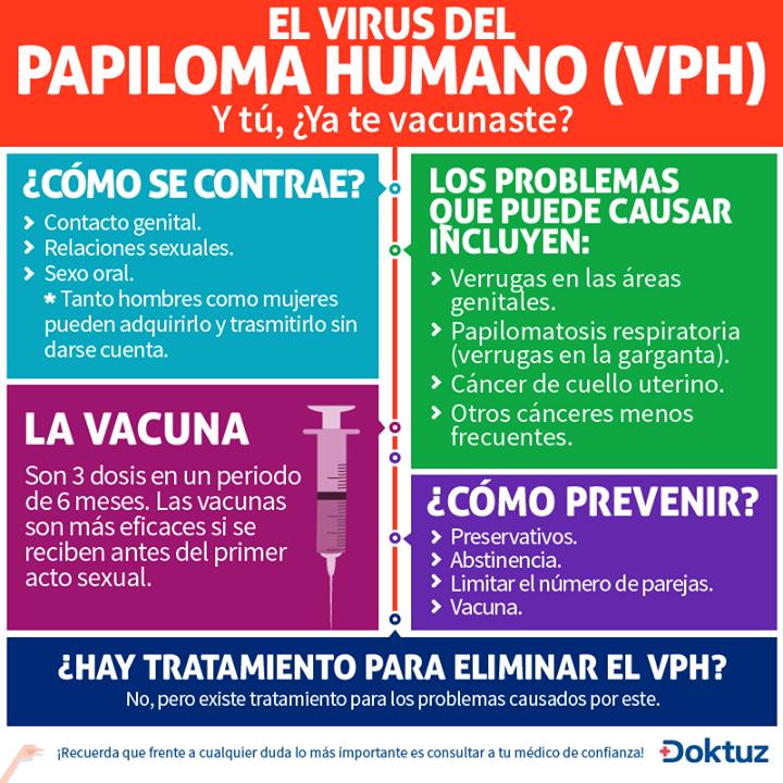 virus de papiloma humano prevencion
