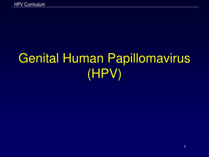 human papillomavirus infection positive