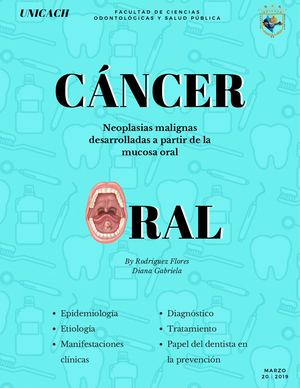 cancer bucal derivado de infecciones virales