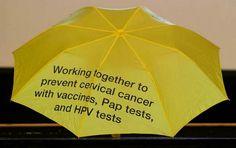 yellow umbrella hpv