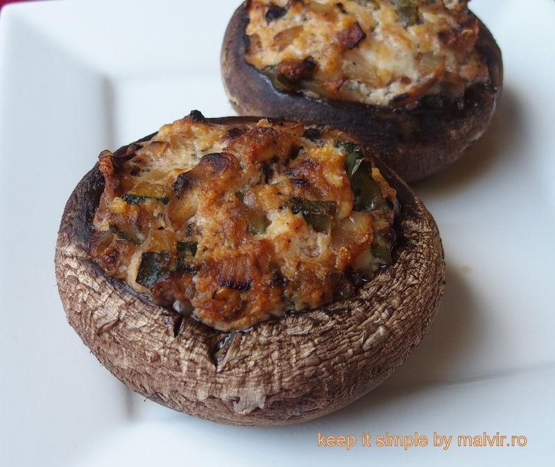 Ciuperci portobello la cuptor, Rețetă Petitchef