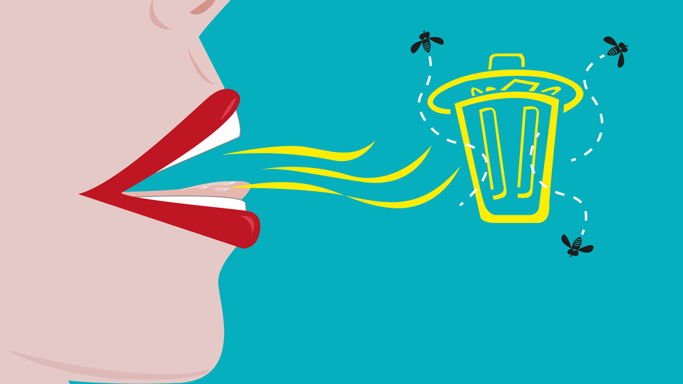 Tratament pentru respiratie urat mirositoare