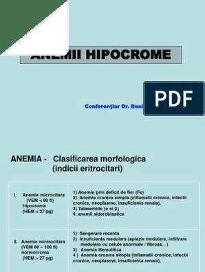 anemie renala