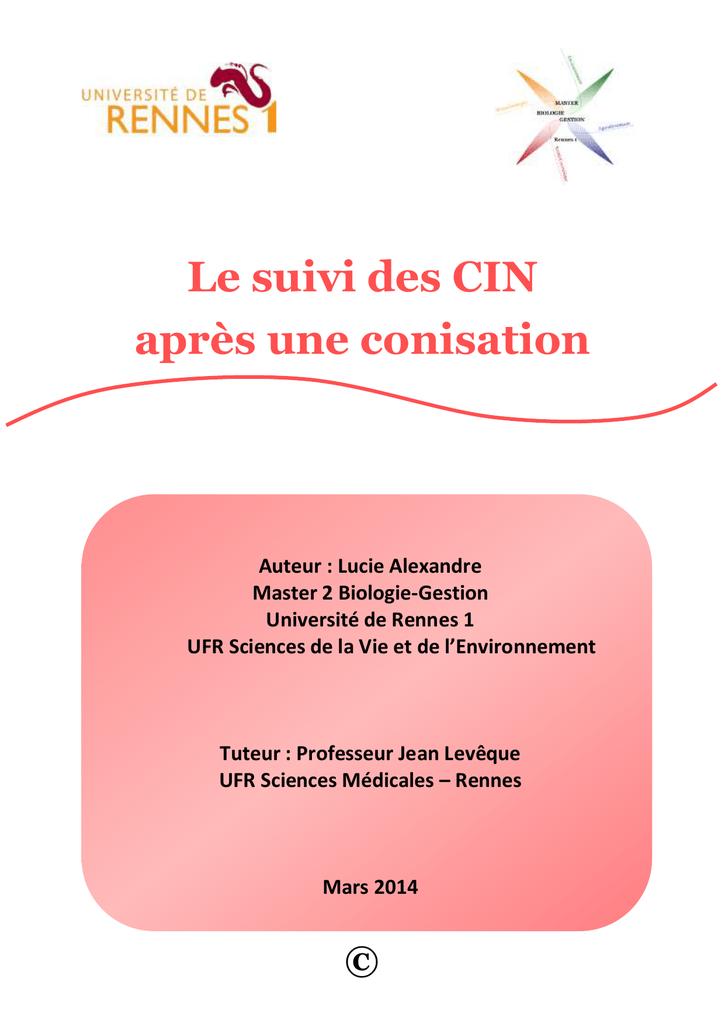 papillomavirus+conisation+recidive