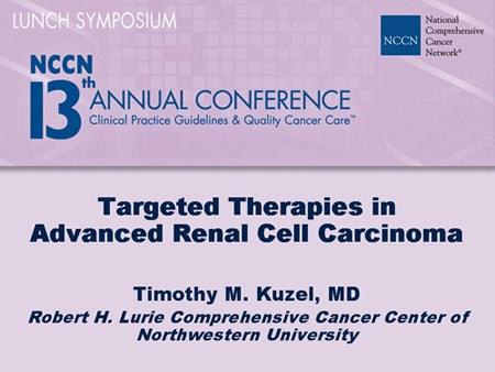 renal cancer targeted therapy
