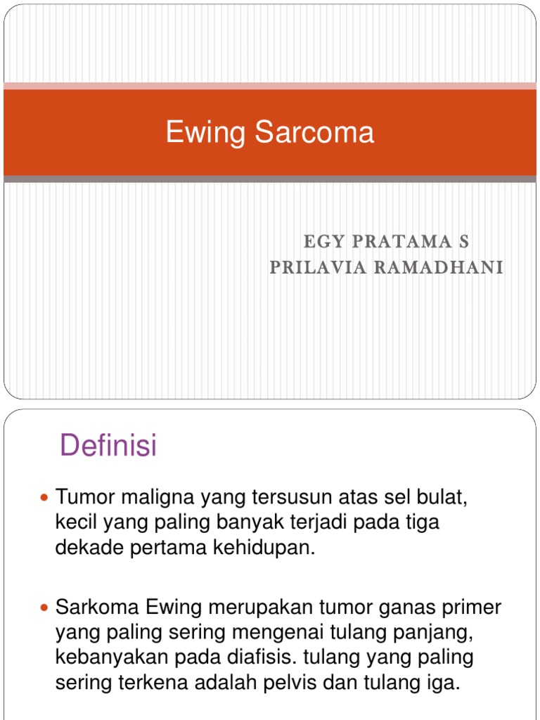 cancer sarcoma ewing adalah)