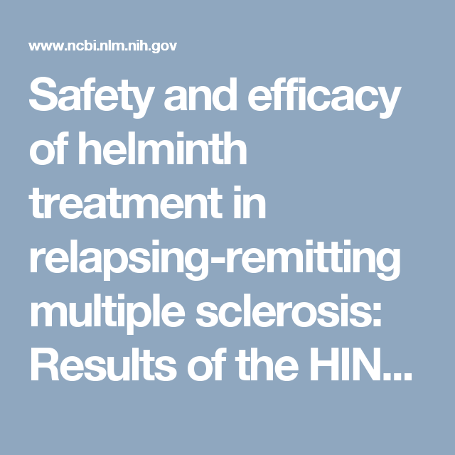 helminth treatment crohns disease
