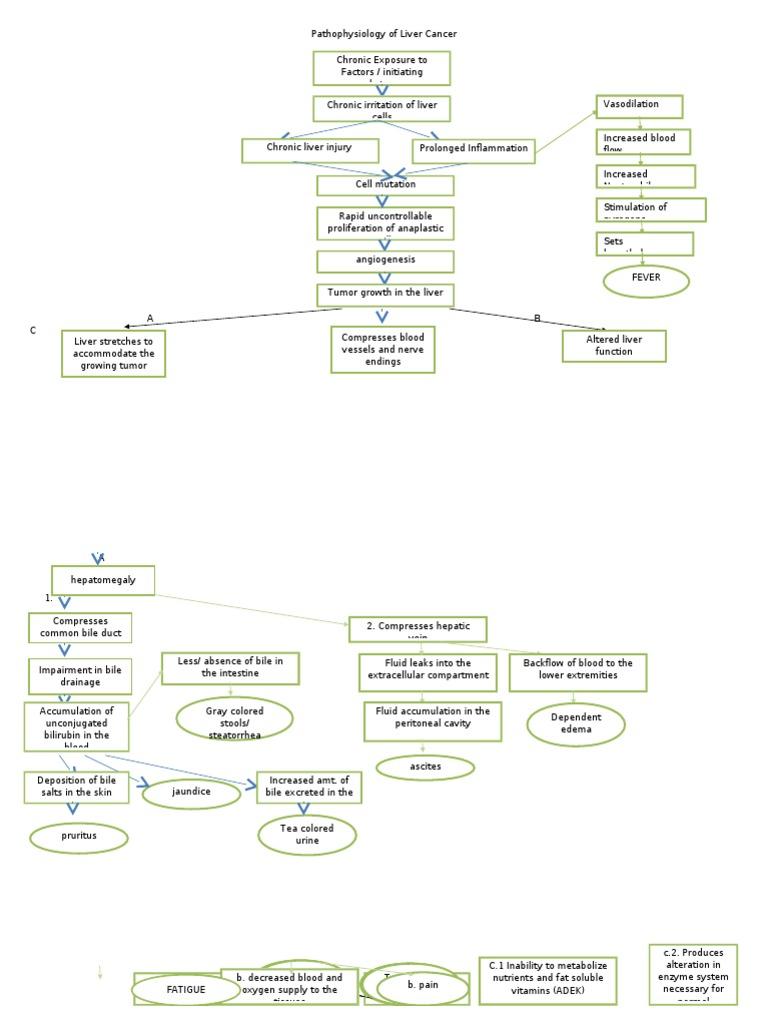 hepatic cancer pathophysiology