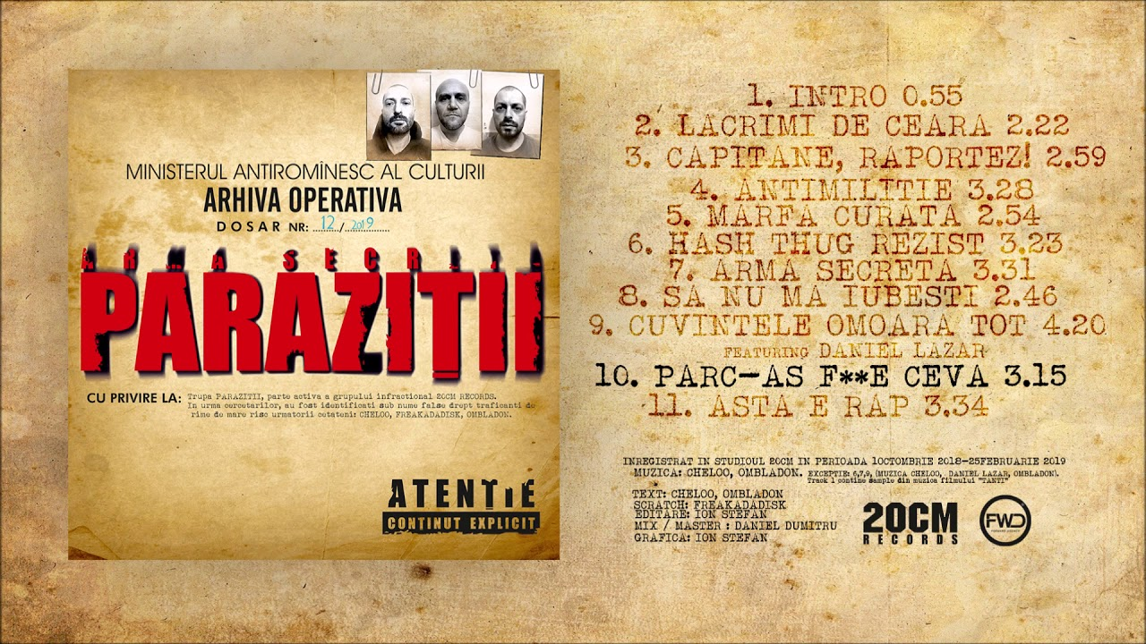Download MP3 and Video For: Parca As Fute Ceva
