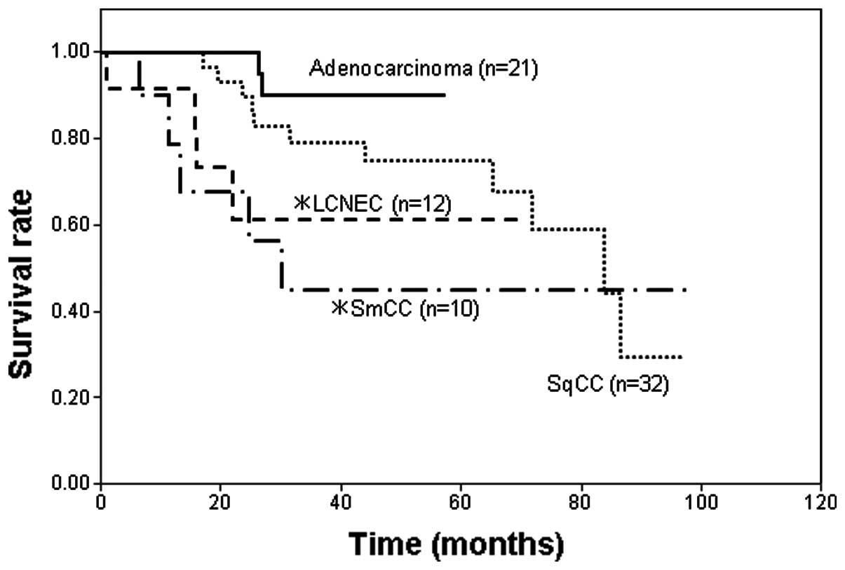 neuroendocrine cancer survival rates
