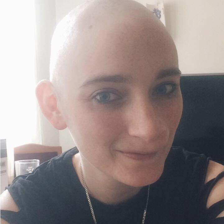 sarcoma cancer forehead