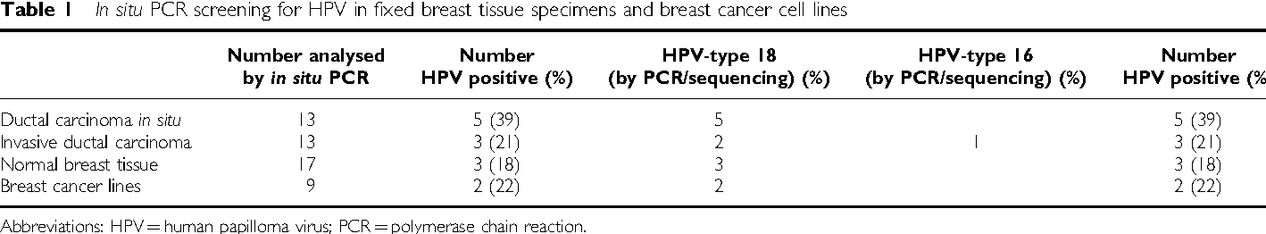 papilloma and breast cancer