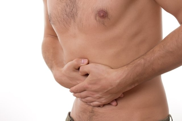 cancer dor abdominal)