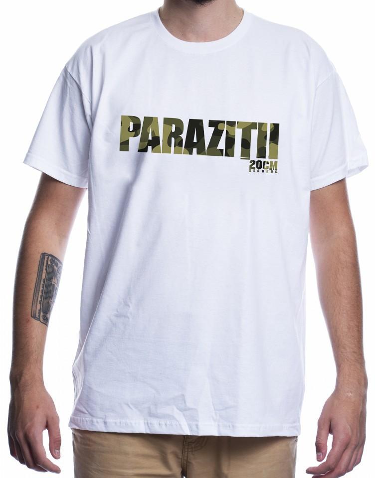 Tricou Paraziții scos la licitație pentru o cauză nobilă