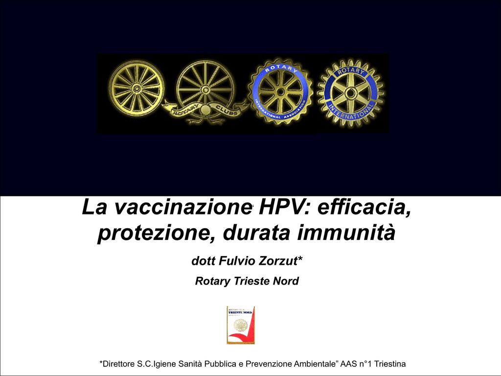 vaccino hpv trieste