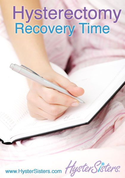 uterine cancer hysterectomy recovery time