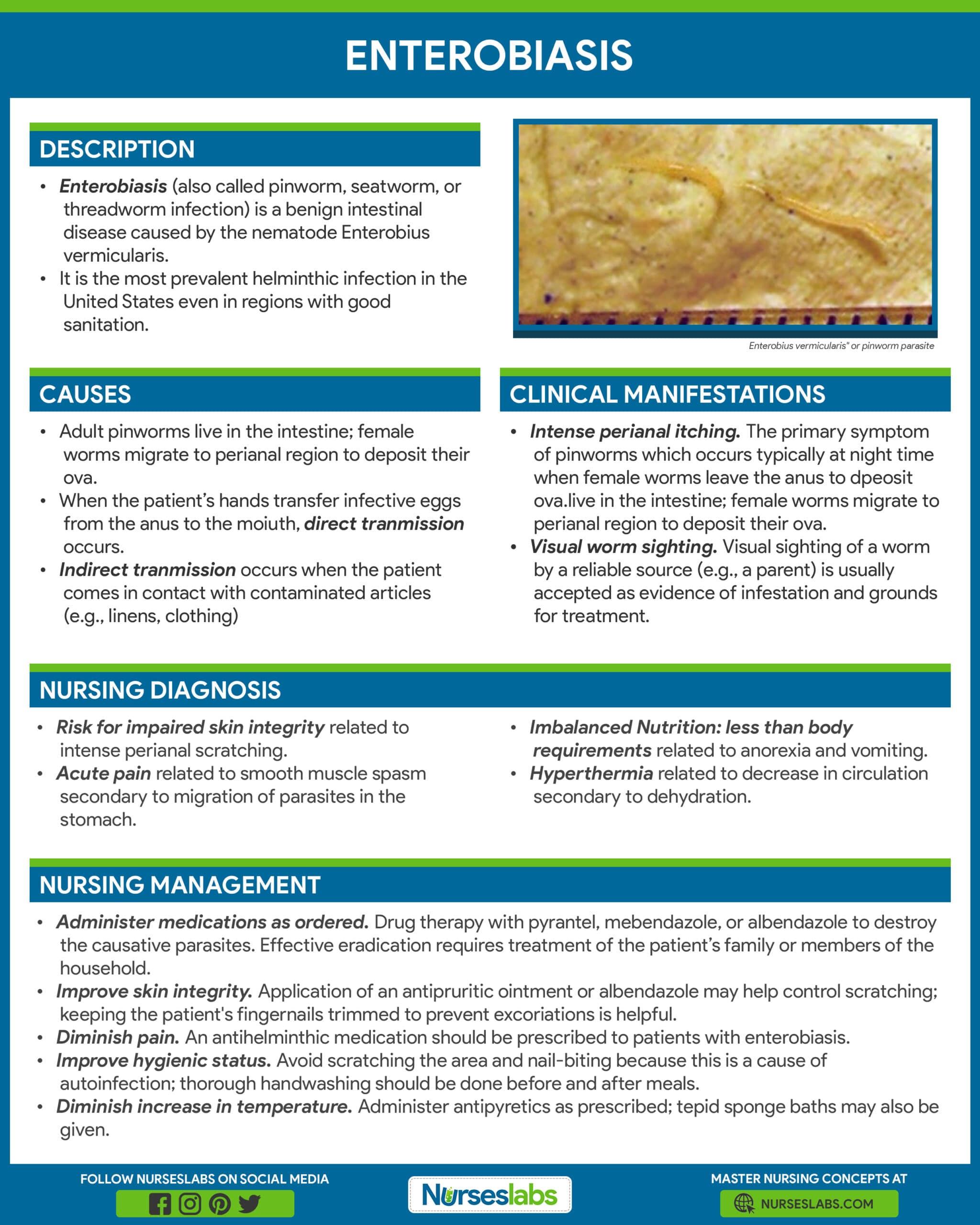 enterobiasis prevention