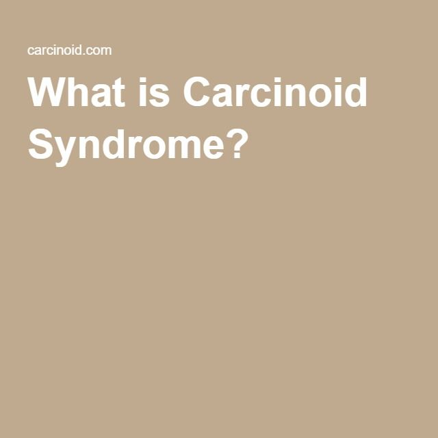 neuroendocrine cancer webmd