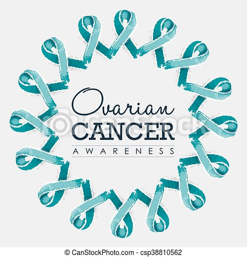 ovarian cancer ribbon images)