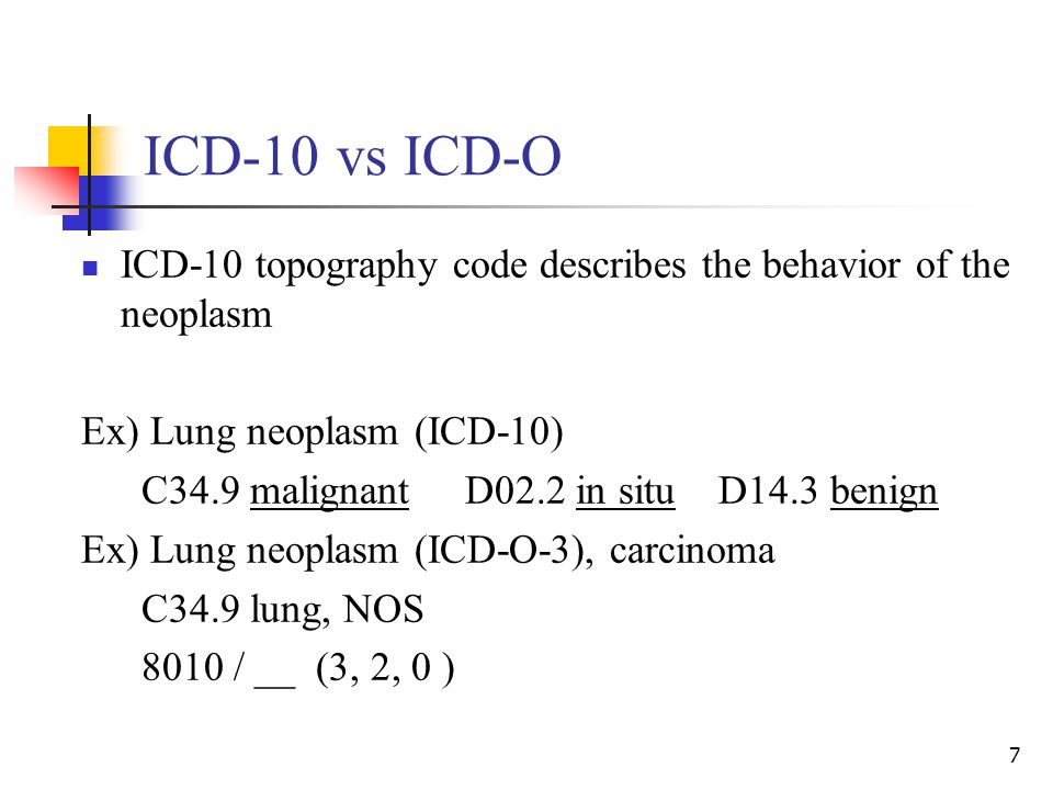 papillary lesion icd 10