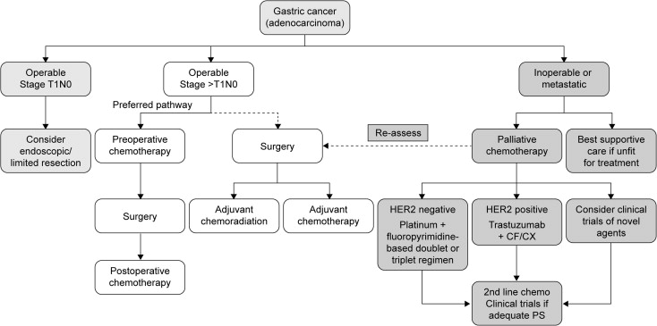 gastric cancer new treatments)