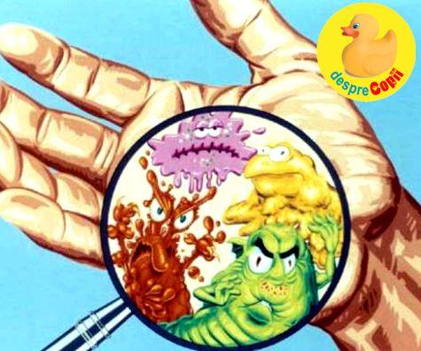 bacterii copii)