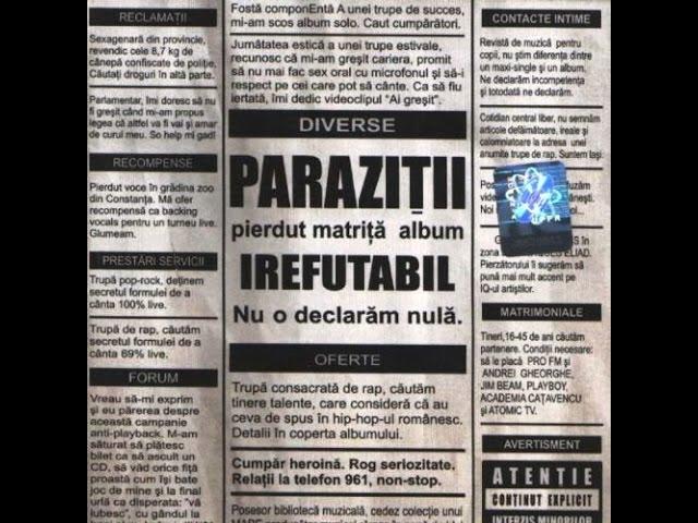 paraziti album nou)