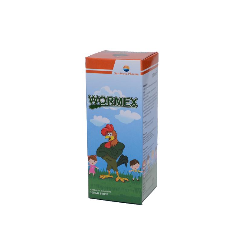 Wormex sirop împotriva paraziților intestinali, ml | asspub.ro