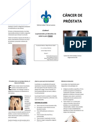 cancer de prostata diapositivas