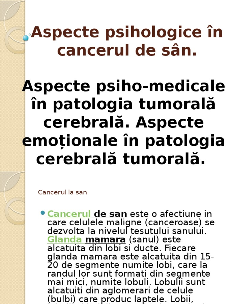 cancerul de san probleme de dependenta)
