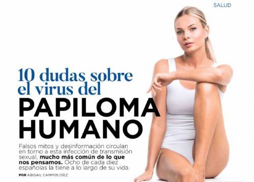 virus del papiloma una)