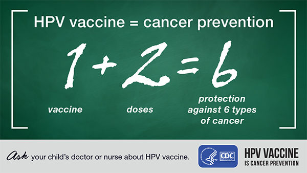 hpv vaccine prevents what cancer)