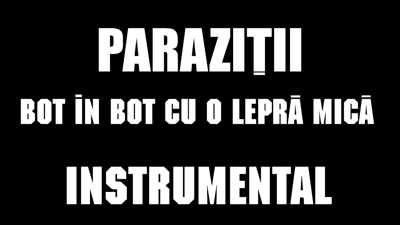 paraziti bot in bot cu-o lepra mica)