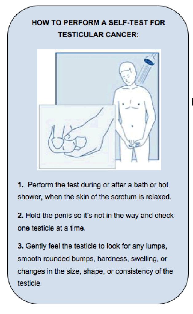 Autoexaminarea testiculara - ce trebuie sa faceti daca ati gasit un nodul   Medlife