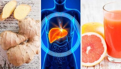 Slăbește prin detoxifierea ficatului