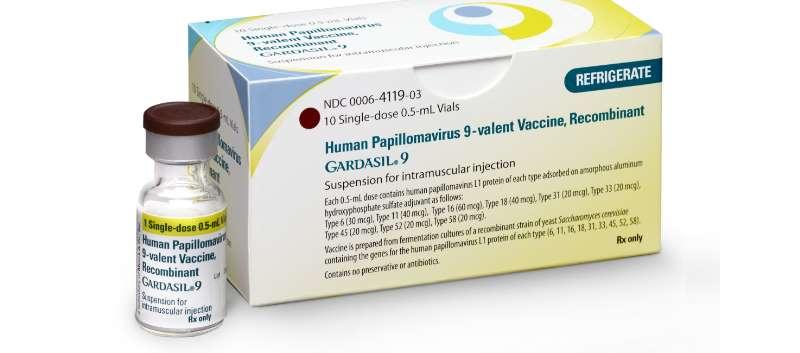 human papillomavirus vaccine hcpcs