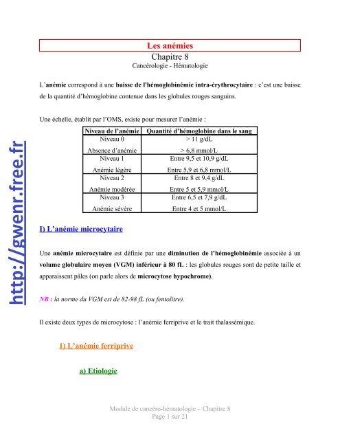 anemie 8 4)