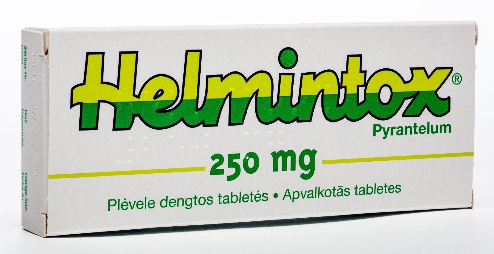 helmintox pyrantelum)