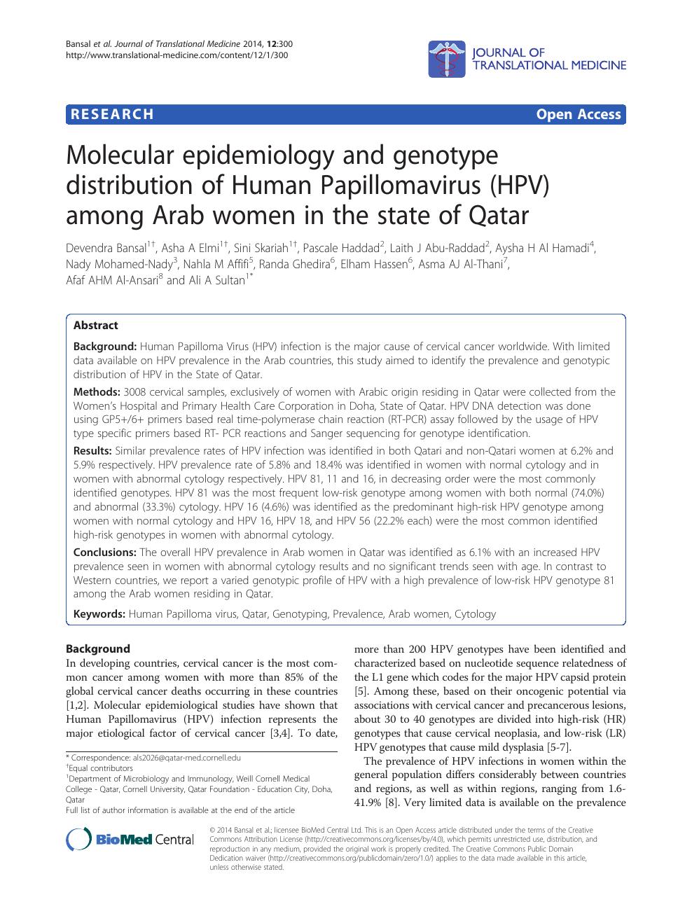 hpv cancer gat