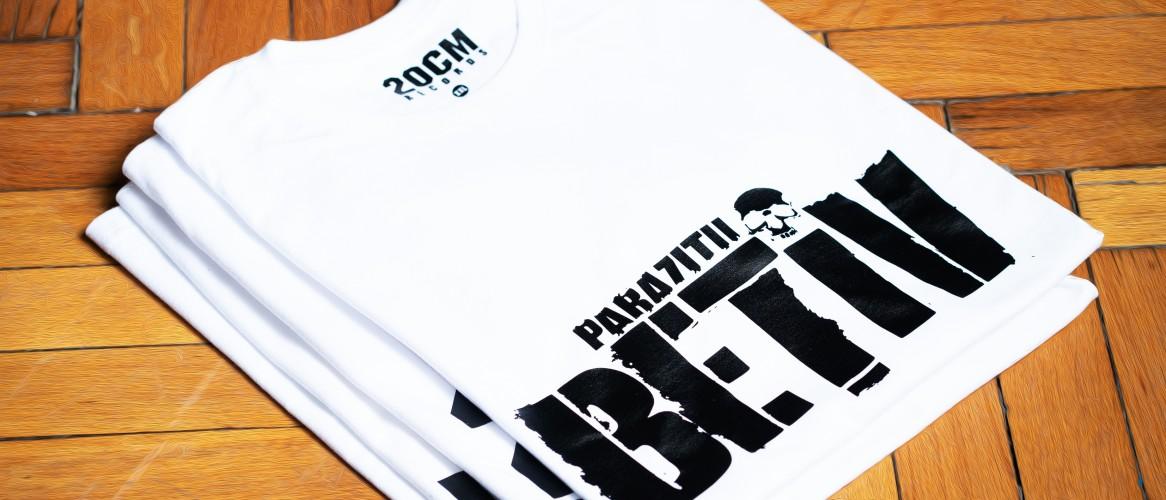 Cauți tricou personalizat cu parazitii? Alege din oferta asspub.ro