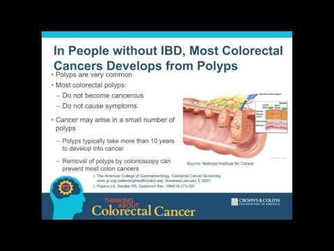 colorectal cancer ibd)