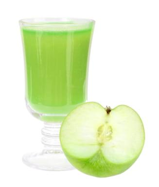detoxifiere cu sare amara si suc de mere)