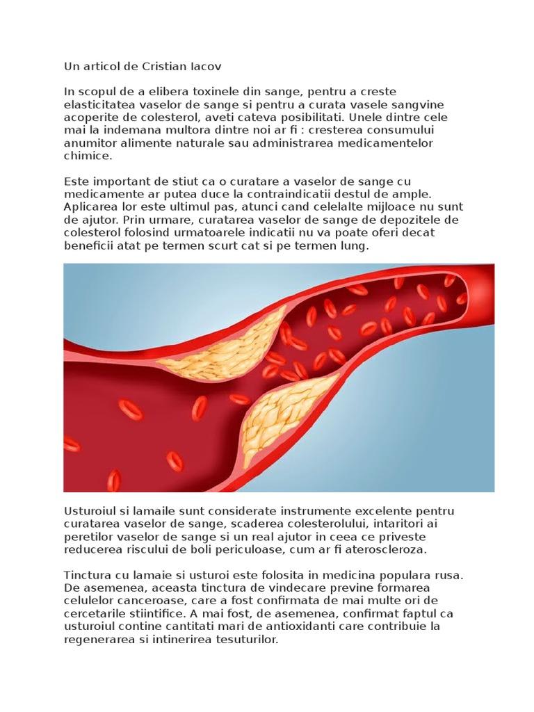 detoxifierea vaselor de sange