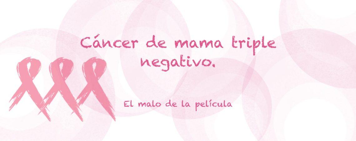 cancer mama hormonal negativo
