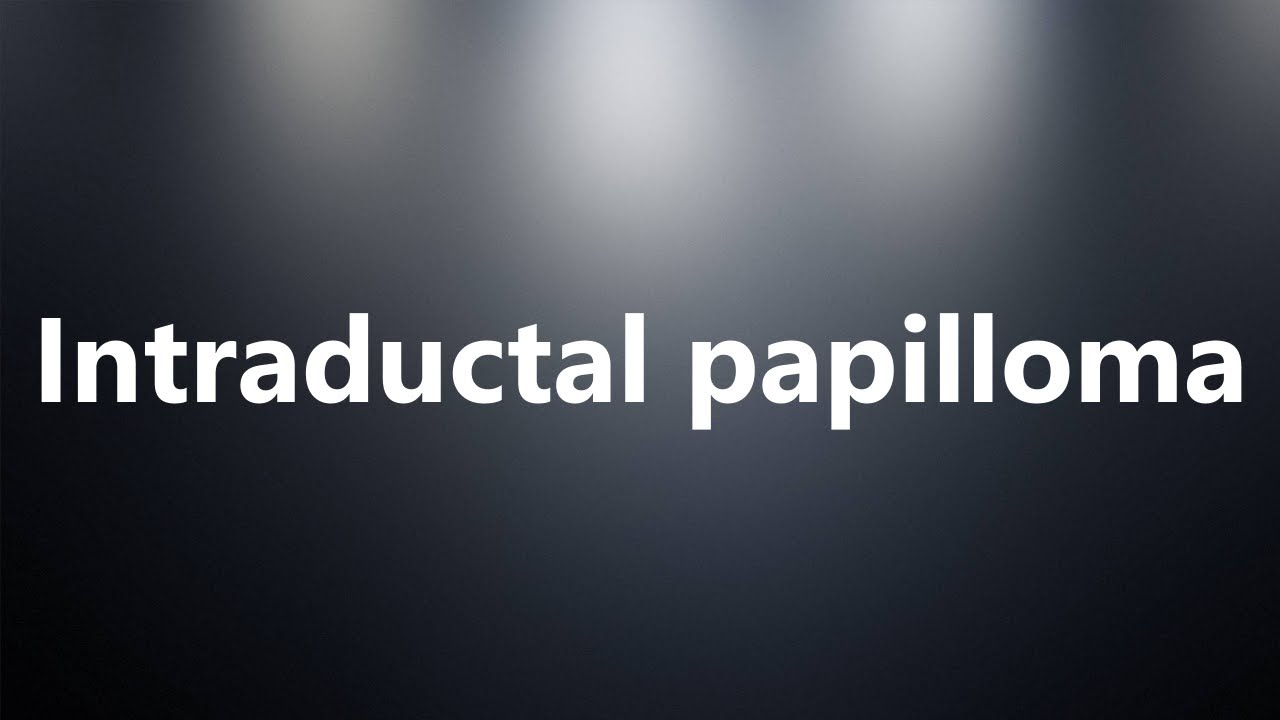 medical definition of a papilloma