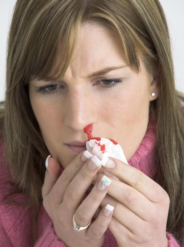 nasal papilloma pain)