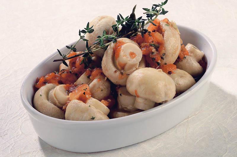 ciuperci a la grecque)