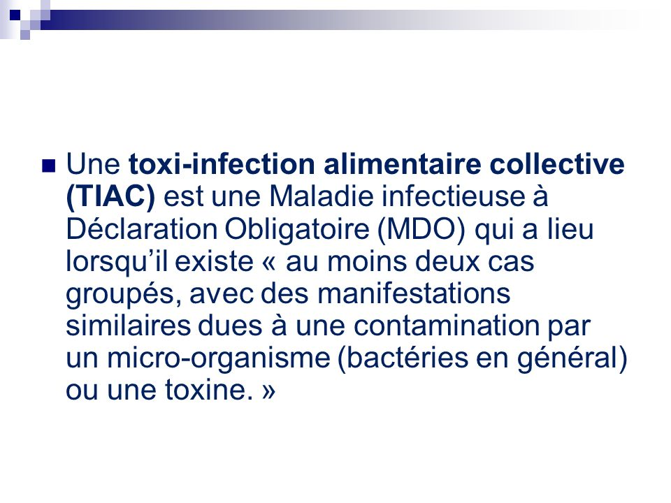 toxine alimentaire)