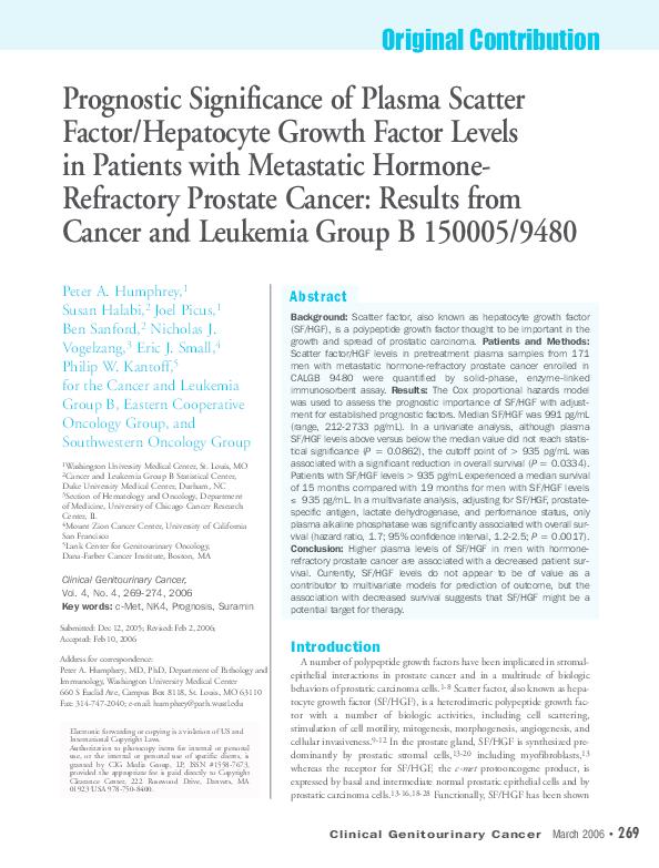 cancer hormonal con metastasis)